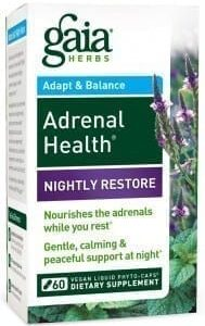 Adrenal Health nightly Gegn stressi og kvíða